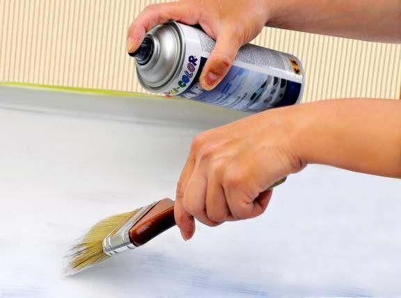 Можно ли красить пластиковый подоконник?