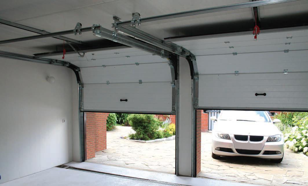 Гаражная дверь: место, безопасность, цвет и ремонтопригодность