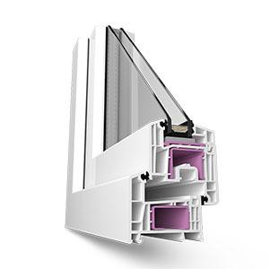 Пластиковые окна Rehau Delight-Design 70 мм