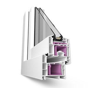 Пластиковые окна Rehau Sib-Design 70 мм